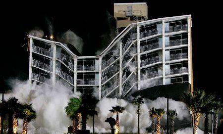 hotel implosion