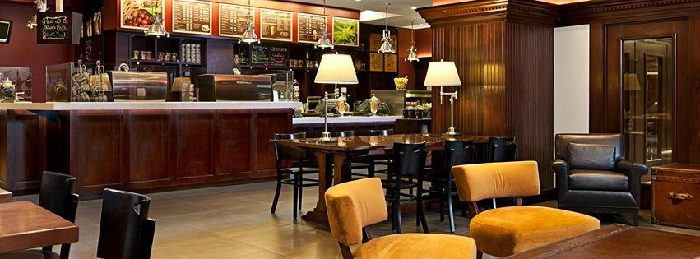 The Coffee Bean & Tea Leaf all'interno Hilton a Washington DC