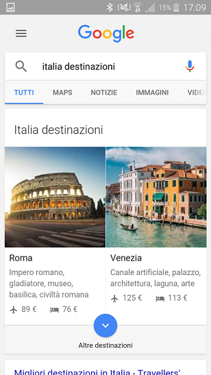 google destination 1
