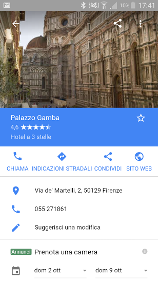 google destination 4