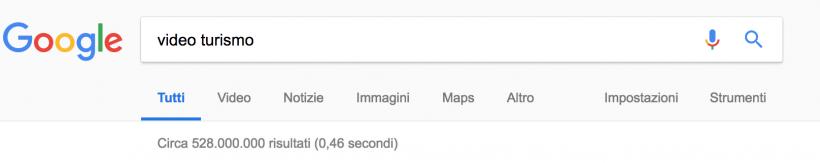 google serp promuovere una destinazione con i video