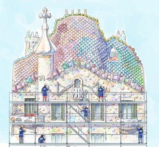 Foto Restauro di Casa Batlló, quando la vacanza diventa esperienza
