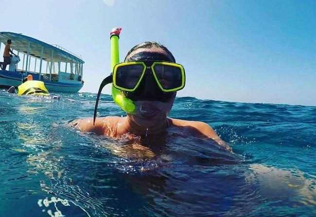 desiree - caccia alla manta gigante Maldive -