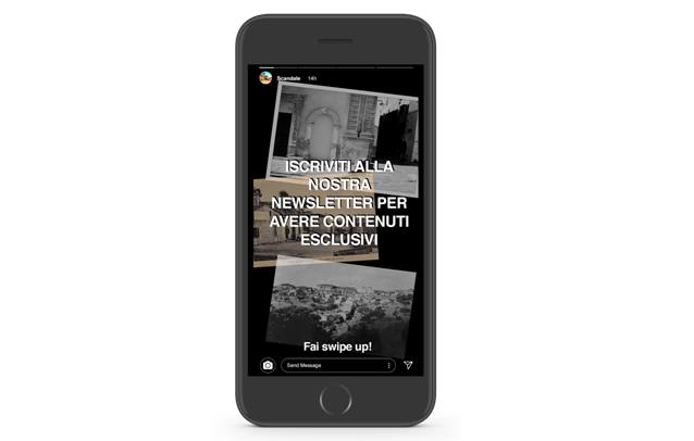 esempio promozione newsletter