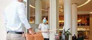 Foto Business Etiquette Hospitality Covid