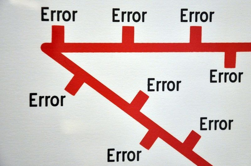 Errori sito alberghiero