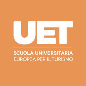 Logo del gruppo di UET  Scuola Universitaria Europea per il Turismo