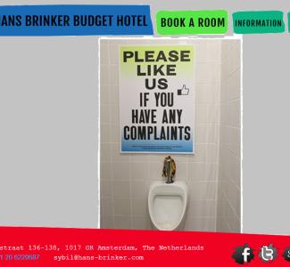 Foto Hans Brinker Budget Hotel: Il peggiore hotel del mondo