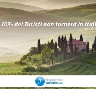 Foto Turismo, un viaggiatore su dieci non tornerebbe in Italia