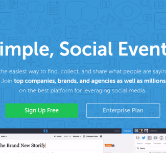 Foto Creare storie con Storify aggregando i contenuti e le condivisioni via web